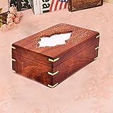 Regalo di ringraziamento per i vostri amati,egno di disegno del foglio di lavoro Inlay scatola del tessuto, (10X6inch)