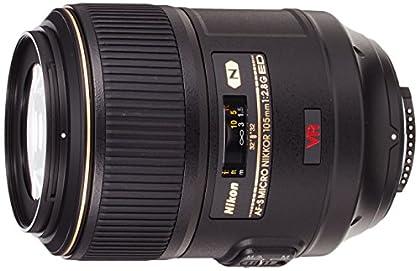 Nikon AF-S VR Micro-Nikkor 105mm f/2.8G IF-ED - Objetivo con montura para Nikon (distancia focal fija 105mm, apertura f/2.8, estabilizador de imagen)