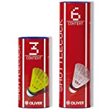 Oliver ProTec 5 - 51330 B�lle - Pro Tec Badmintonb�lle weiss schnell