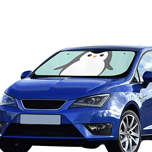 Plosds Lustige Auto Sonnenschutz Niedlichen Cartoon Tiere Charakter Für Kinder Sonnenblende Universal Fit Halten Auto Fahrzeug Kühlen Reflektor Limousinen Geländewagen LKW 55