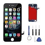 iPhone 7 Display LCD Bildschirm, LCD Touchscreen Bildschirm Reparatur Glas Komplett mit kostenlosen Werkzeugen (Schwarz)