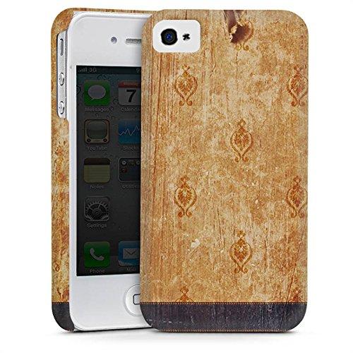 Apple iPhone 6 Housse Étui Silicone Coque Protection Rétro Mur Bandes Cas Premium mat