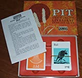 PIT. THE WORLDS LIVELIEST TRADING GAME. VINTAGE 1964 CARD GAME BY PARKER BROTHERS