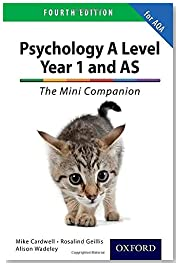 The Complete Companions: A Level Year 1 and AS Psychology: The Mini Companion for AQA Fourth edition (PSYCHOLOGY COMPLETE COMPANION)