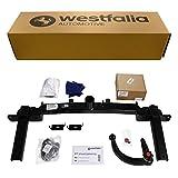 Westfalia Abnehmbare Anhängerkupplung für Astra J Fließheck (BJ 12/2009-09/2015) im Set mit 13-poligem fahrzeugspezifischen Elektrosatz