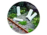 modellbahn-exklusiv Juweela 28200 - Kilometersteine Blanko 10g, ca. 50 Stück, Spur H0, 1:87
