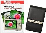 Foto Tasche Kamera Bag Ultimate 4 Leder Tasche Plus Fotobuch Ihre IXUS Canon 155 240 255 265 275 510