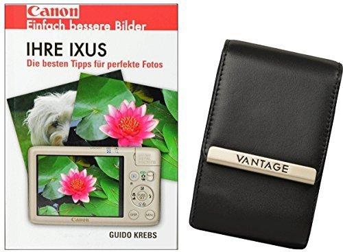 fz300 buch Foto Tasche Kamera Tasche Ultimate 4 Leder Tasche Plus Fotobuch IHRE IXUS Canon 155 240 255 265 275 510