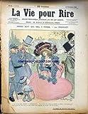 VIE POUR RIRE (LA) [No 84] du 30/11/1901 - HONNI SOIT QUI MAL Y PENSE PAR RADIGUET.