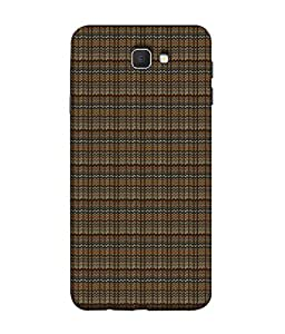 PrintVisa Squared Check 3D Hard Polycarbonate Designer Back Case Cover for Samsung On5 (2016) New Edition For 2017 :: Samsung Galaxy On 5 (2017)