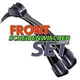 HYBROX Frontscheibe Scheibenwischer (4250866528668) Wischblatt Satz FLEXO 650/570 (F39)