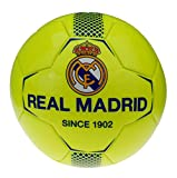 Real Madrid Ballon de Football Jaune Fluo