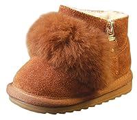 Materiale esterno: PU pelle Materiale suola: gomma Si consiglia di scegliere la taglia in più. Dimensione:  Taglia interne 11.5cm: lunghezza di scarpe interne di 11.5cm, Asia Taglia 15 Taglia interne 12cm: lunghezza di scarpe interne di 12.cm...