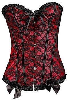Desy donne corsetto Nightwearsexy push-up jacquard-medium misto cotone cotone cotone blu nero e rosso da donna, rosso, XL B0751FCPTJ Parent | Stile elegante  | Molte varietà  | Non così costoso  | Più economico del prezzo  183077