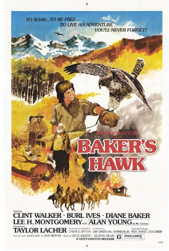 Baker's Hawk Plakat Movie Poster (11 x 17 Inches - 28cm x 44cm) (1977)
