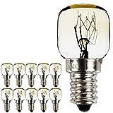10pièces/Lot SES E14Bouchon à vis Plaqué nickel pygmée lamps 300°...