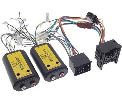 BMW Verstärker Adapter 4 Kanal CINCH Kabel Rundpin Stecker E30 E32 E34 E36 E38 E39 E46