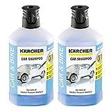 Kärcher RM 610 Autoshampoo 3-in-1 1000ml, 2er Pack (2 x 1000ml)