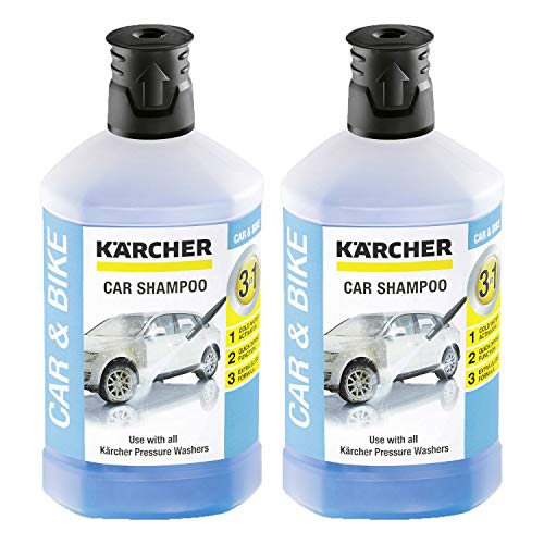 Kärcher RM 610 Autoshampoo 3-in-1 1000ml, 2er Pack (2 x 1000ml)