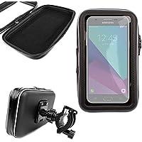 DURAGADGET Montaje Giratorio para Bici De Montaña Y Funda para Smartphone Samsung Galaxy J3, J5