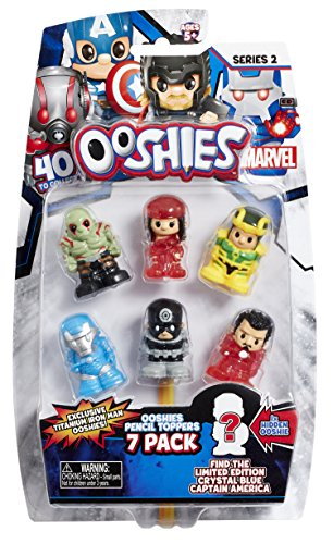 Ooshies Marvel 7Pack Asst-Wave 2 -