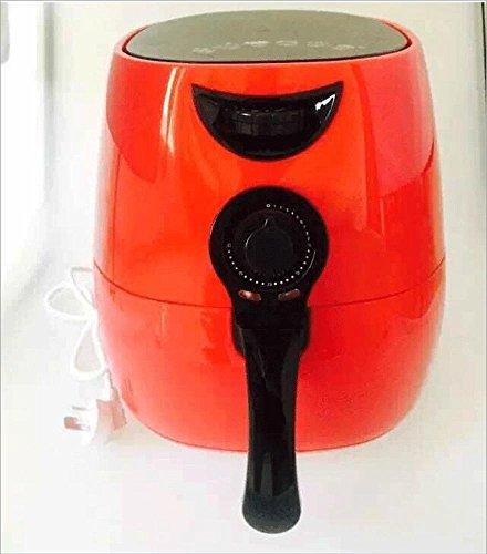 Preisvergleich Produktbild 2.5L rußfrei Luft Friteuse Pommes frites Maschine, 1400W , red