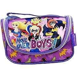 DC Super Hero Girls Beauty Case da Viaggio per Make Up per Ragazza Bambina Portatutto Idea Regalo