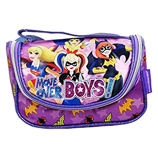 DC Super Hero Girls Make Up Bag Bolsos Neceser Vanity Estuche Ninos