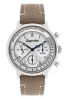 Gigandet G45-002 - Reloj para hombres, correa de cuero color gris de Gigandet