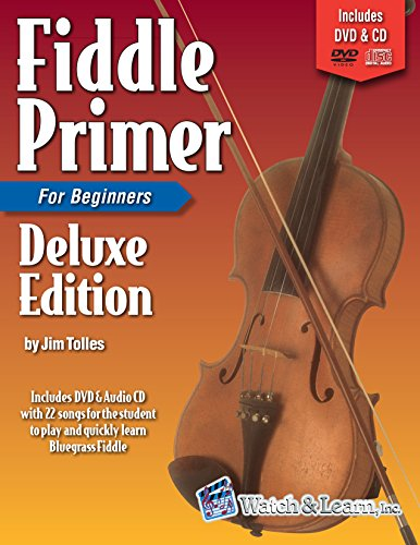 Fiddle Primer Book For Beginners Deluxe Edition with Audio & Video Access (English Edition)