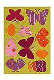 Arte Espina Kinderteppich Spirit Glowy, Butterfly, ca. 110x160 cm