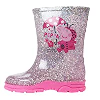 Peppa Pig Girls Copiapo Slip On Wellington Boots UK Sizes Child 5-10