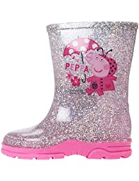 Peppa Pig Wellingtons - Botas de Goma de Trabajo de Sintético Chica