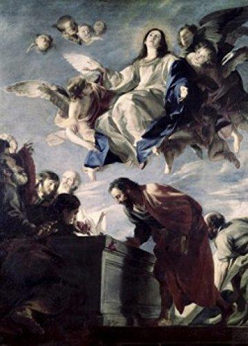 Mateo Cerezo - The Ascension of the Virgin Mateo Cerezo (1635-1685/Spanish) Poster Drucken (45,72 x 60,96 cm) - Mateo Poster