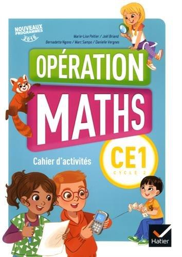 Mathématiques CE1 Cycle 2 Opération maths : Cahier d'activités par (Broché - Dec 31, 2018)