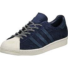 Adidas Originals Superstar 80s S76639 Zapatillas Hombre Azul, 45 1/3