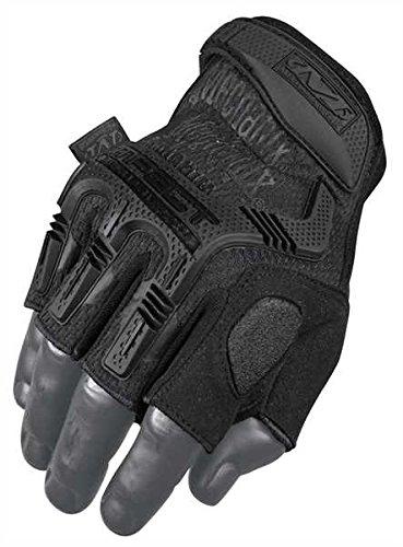 Handschuhe Mechanix M-Pact Fingerless Schwarz