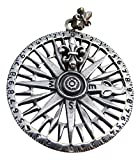 925Silber Anhänger Kompass Halskette Thailand Schmuck Art