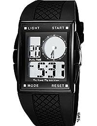 f68341198e81 LXA koder Señor Espacio Relojes Juvenile femenina electrónico impermeable  exterior de deporte reloj de hombre