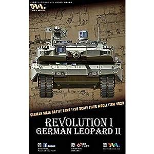 Revolución I Tiger Modelo TG 4629Kit Modelo alemán Tanque de Batalla Principal Leopard II