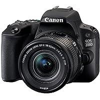 Canon Eos 200D S Cp 18-55mm Fotoğraf Makinesi, Full Hd (1080P), Siyah