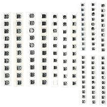 KKmoon 130pcs/Set 13valores SMD condensador electrolítico de aluminio Assorted Kit 1uf-220uf