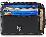 TRAVANDO Portefeuille Porte Slim Carte de crédit Cas Hommes Pochette Mini Porte-Monnaie pour pièce Jersey