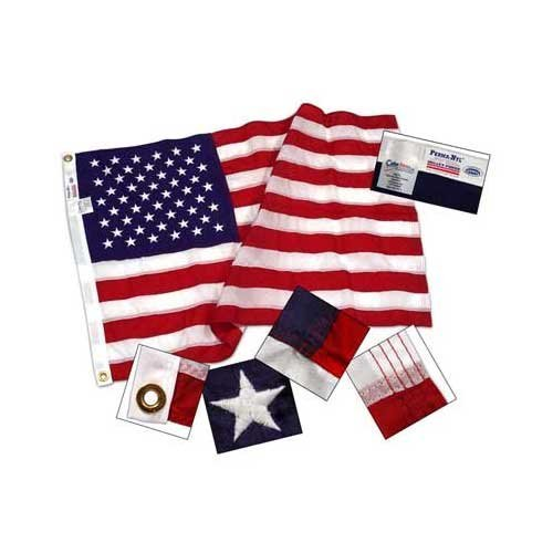 Suregreen 2,5 Nylon US Flagge - Online-Shops Marke - Made in USA