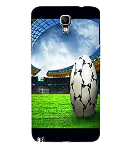 ColourCraft Football Design Back Case Cover for SAMSUNG GALAXY NOTE 3 NEO DUOS N7502