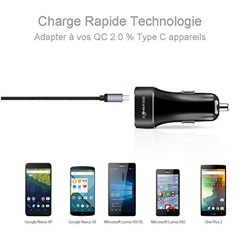 Confident Aukey® Lenovo Stromstecker Power Usb Charger Adapter 3.0a Stecker Charger Weiß Other Cell Phones & Accs Cell Phone & Smartphone Parts