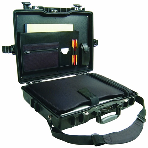 Peli 1495CC1 Notebook Koffer Deluxe schwarz