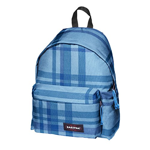 Eastpak Sac à dos loisir, Multicolore(Checkci Blue)- 24 L