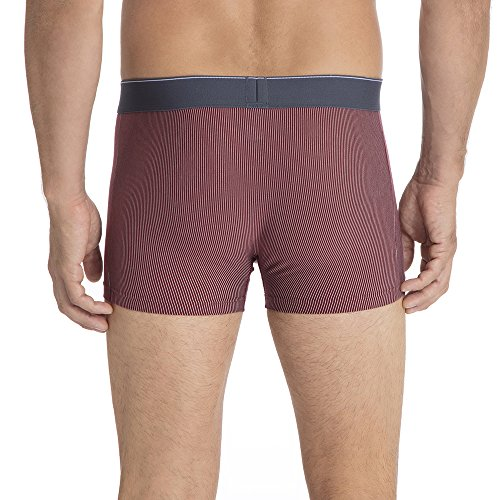 Calida Herren Boxershorts Cotton Stretch Rot (Cabernet Red 158)