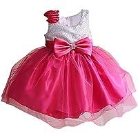 Ameurope ragazza Tulle vestito fiore per formale occasione speciale compleanno